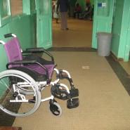 Cadeira de rodas pronta a usar-