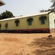 Vista parcial da Unidade de saúde de Buba