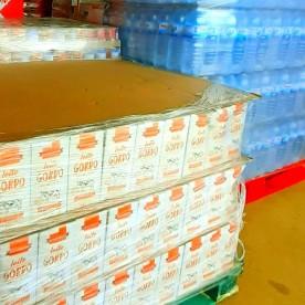 Preparação de donativos para a Guiné Bissau