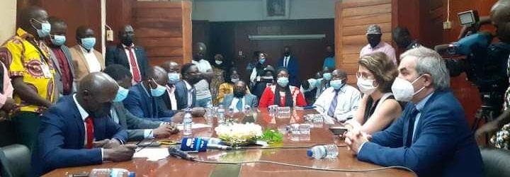 Reuniao com a Câmara Municial de Bissau
