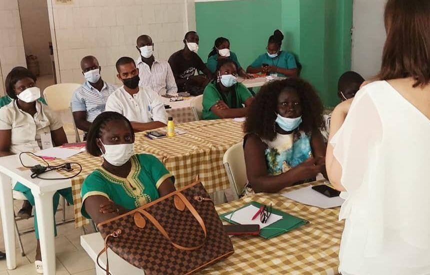 Visita à Guiné Bissau